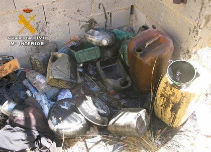 La Guardia Civil de Albacete localiza un taller mecánico clandestino en Hellín