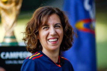 """Irene Lozano: """"El fútbol español debe seguir unido como lo ha estado durante la pandemia"""""""