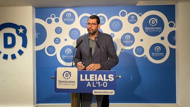 El portaveu d'Estratègia Política de Demòcrates, Jordi Pou.