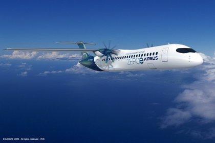 Airbus crea nuevos conceptos de aviones de cero emisiones que podrían entrar en servicio para 2035