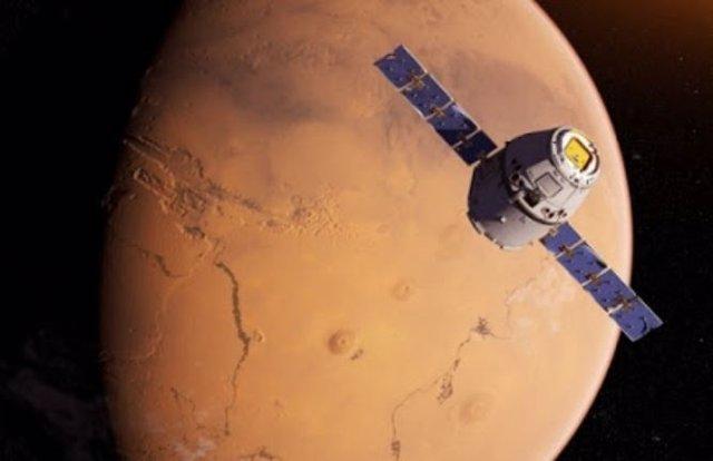 Maniobra orbital de la sonda china a Marte, que cumple 60 días de viaje