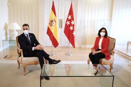 Sánchez y Ayuso llegan a un acuerdo en su reunión en Sol para frenar el avance de la pandemia