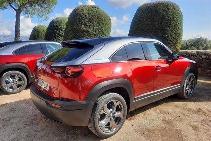 Mazda venderá este año 350 unidades del MX-30, su primer eléctrico con 200 kilómetros de autonomía