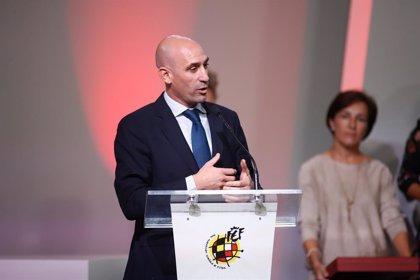 Luis Rubiales, reelegido presidente de la RFEF