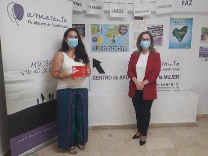 Fundación Cepsa conoce el proyecto de ayuda a mujeres migrantes o en situación de prostitución de Amaranta