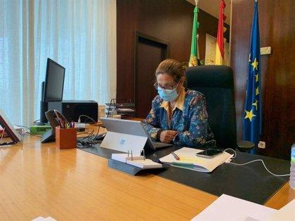 La Junta de Extremadura insta al Gobierno a contar con un marco financiero definido para la implantación del teletrabajo