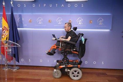 Podemos urge al Congreso a restringir la presencialidad y extender el trabajo telemático ante la situación en Madrid