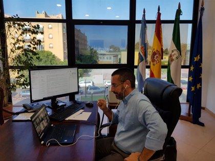 El alcalde de La Línea (Cádiz) lamenta el fallecimiento García Ferrer, de la Oficina de Gibraltar en Exteriores