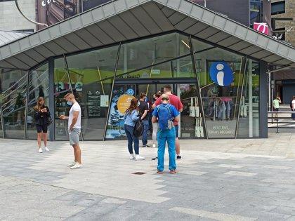 Andorra recibe en agosto un 11,8% menos de visitantes que el año anterior