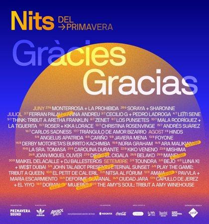 """Nits del Fòrum cierra 50 noches de conciertos con un llamamiento a """"salvar el sector cultural"""""""