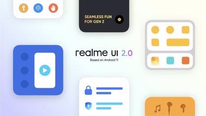 Portaltic.-Realme UI 2.0, basada en Android 11, introduce novedades de personalización y protección inteligente