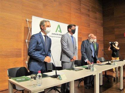Junta y Caja Rural de Jaén crearán una entidad para apoyar la financiación de proyectos empresariales en la provincia