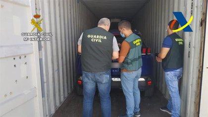 Recuperan tres vehículos robados en Francia en el Puerto de La Luz, en Las Palmas de Gran Canaria