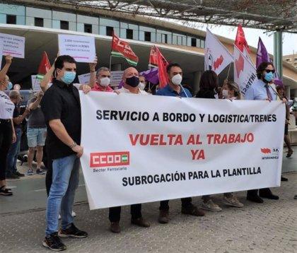 """CCOO exige a Renfe cancelar la licitación del servicio de a bordo en AVE porque """"están en juego miles de trabajos"""""""