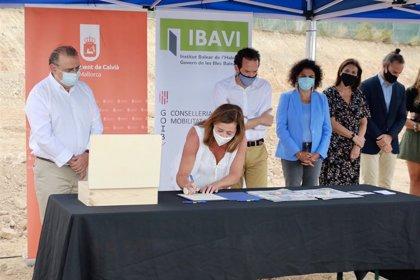 Govern y Ayuntamiento de Calvià inician la construcción de 48 viviendas de protección pública en Magaluf