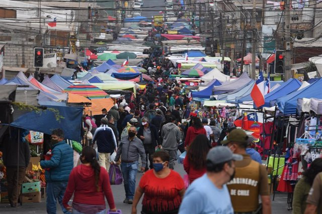Mercado en la ciudad chilena de Antofogasta