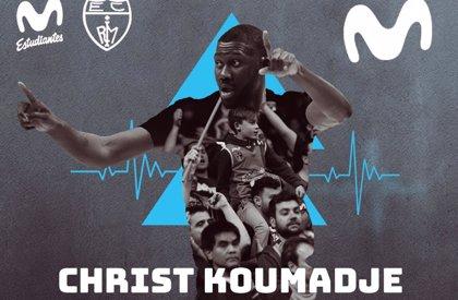 El 'gigante' Christ Koumadje refuerza el juego interior de Movistar Estudiantes