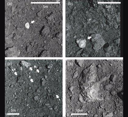 Rocas apuntan que Ryugu surgió de la destrucción de un asteroide mayor
