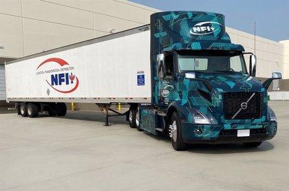 La empresa de transportes NFI comienza las pruebas del camión eléctrico VNR de Volvo