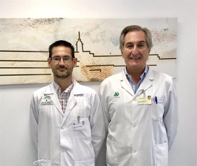 Los doctores Pereira y Conejo Mir.