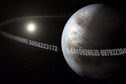 Hay una Tierra pi, con periodo orbital 3,14