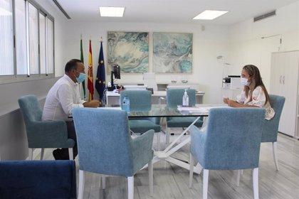 Alcalde de San Silvestre de Guzmán (Huelva) propone a la Junta crear un foro común sobre la incidencia del covid