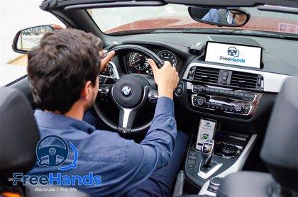 MyFreeHands, la app española para enviar mensajes de WhatsApp sin soltar las manos del volante