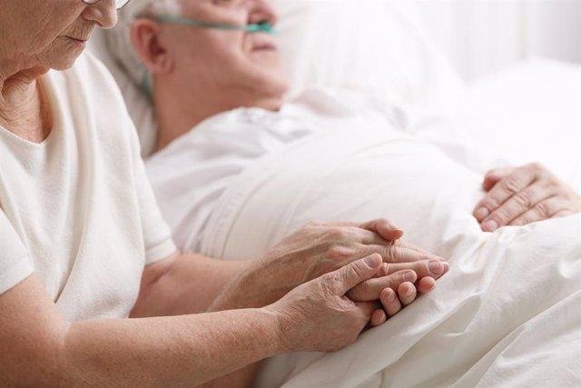 Imagen de archivo de un paciente.