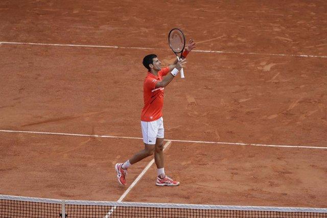 Tenis/Roma.- Novak Djokovic conquista el Foro Itálico ante Diego Schwartzman y s