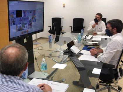 La Comunidad reitera la necesidad de coordinación entre todas las administraciones para trabajar por el Mar Menor