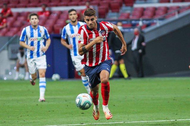 Fútbol.- Álvaro Morata no entrena con el Atlético y podría estar cerca de volver