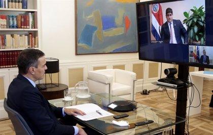 Costa Rica traslada a Sánchez su satisfacción por la iniciativa de respuesta ante la Covid-19 en América Latina y Caribe