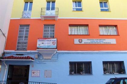 El colegio Lope de Vega de Málaga capital, primero de la provincia en cerrar al completo por varios casos de COVID-19