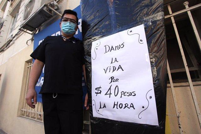 Coronavirus.- Argentina bate un nuevo récord de fallecidos diarios por COVID-19