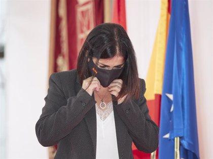 """Darias pide solidaridad ante el """"virus de la discordia"""" de Torra y dice que Cataluña también vivió una situación similar"""