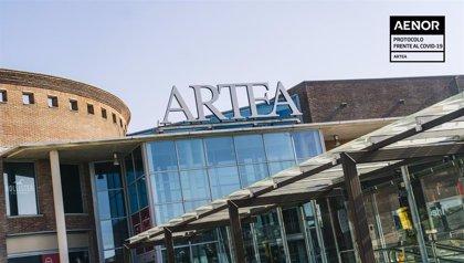El Centro Comercial Artea certifica con AENOR sus espacios frente al covid-19
