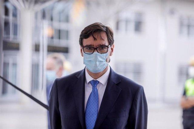 El ministro de Sanidad, Salvador Illa,