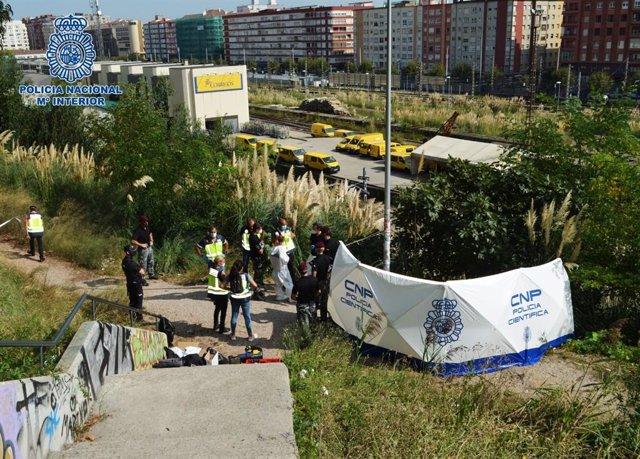 VÍDEO: Los restos humanos hallados en Santander pertenecen a la mujer desapareci