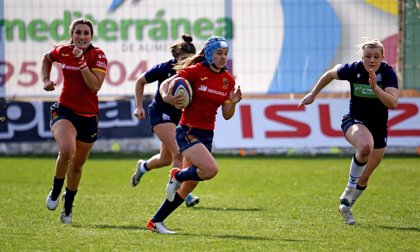 La selección española femenina convoca a 30 jugadoras para preparar el Europeo de Rugby