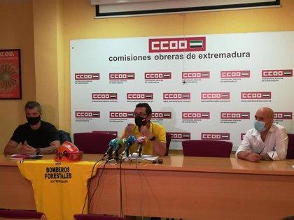 CCOO recuerda que el Estatuto Básico del Bombero Forestal lo recogían PSOE y Unidas Podemos en su acuerdo de gobierno