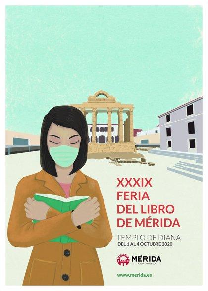 La Feria del Libro de Mérida se traslada este año al Templo de Diana, donde se celebrará del 1 al 4 de octubre