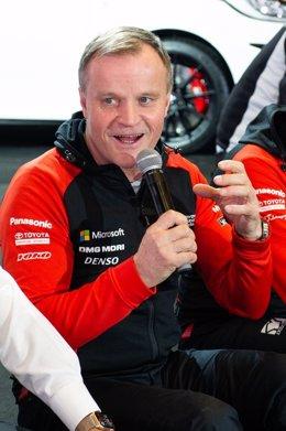 Motor.- Toyota nombra al campeón del mundo de rallys Tommi Mäkinen asesor de aut