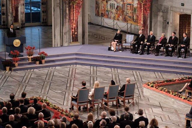 Nobel.- El Nobel de la Paz modifica su gala para cumplir con las recomendaciones