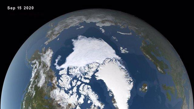 Mínimo de hielo en el Ártico de 2020