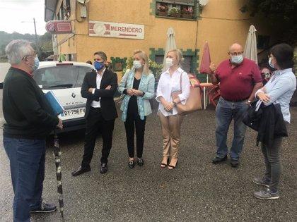 Coto (Vox) traslada al Ayuntamiento las múltiples problemáticas de los vecinos de San Claudio