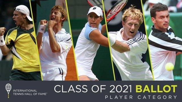 Tenis.- Sergi Bruguera y Juan Carlos Ferrero, nominados para entrar en el Salón