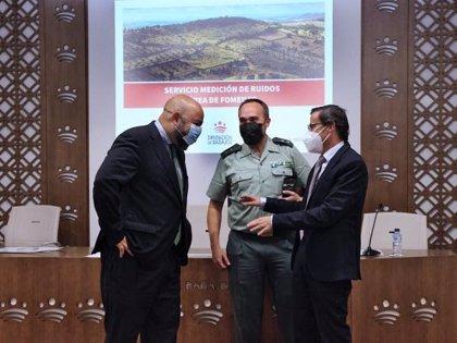 La Diputación de Badajoz pone en marcha un nuevo servicio de medición de niveles de contaminación acústica
