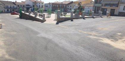 Concluyen las obras de pavimentación y redes en Deleitosa (Cáceres) realizadas a través del Plan Activa