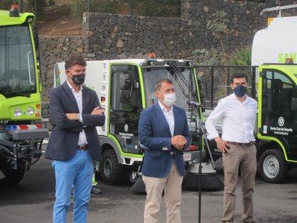 Santa Cruz de Tenerife incorporará este año 97 vehículos de limpieza y residuos que ahorrarán 151 toneladas de CO2