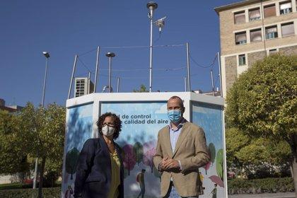 Una estación de control de calidad del aire en Pamplona mejorará la captación de emisiones de tráfico